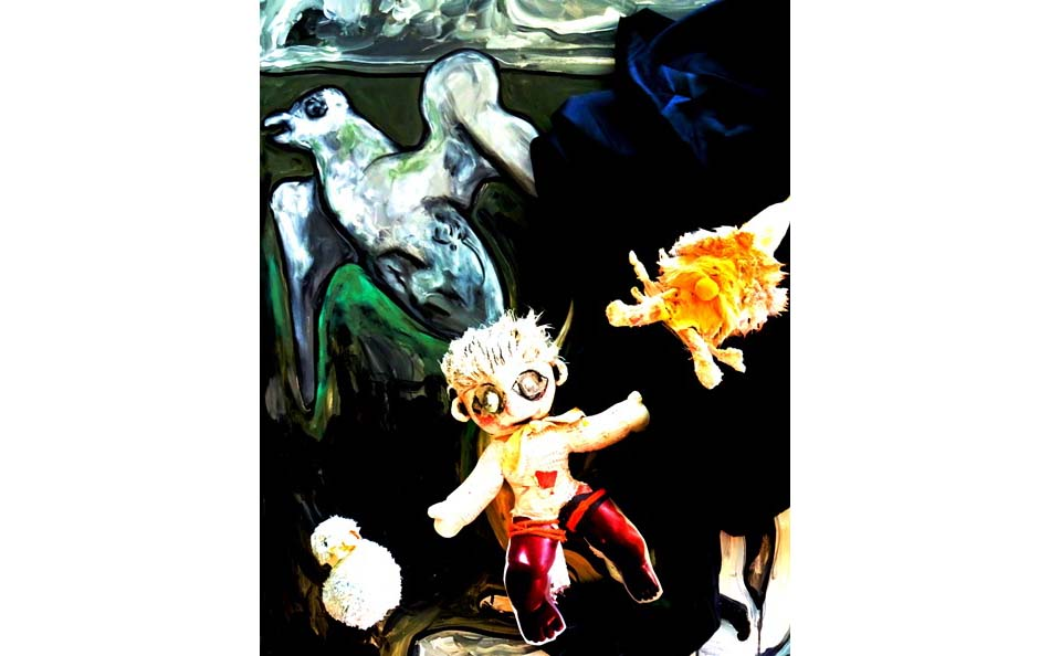 Workshop: Experimentelle künstlerische Techniken zu den Werken Arps und Dalís