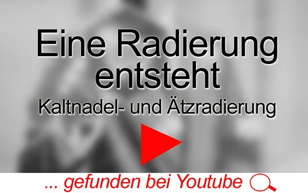 für Sie gegoogelt: Eine Radierung entsteht – Kaltnadel + Ätzradierung – Youtube