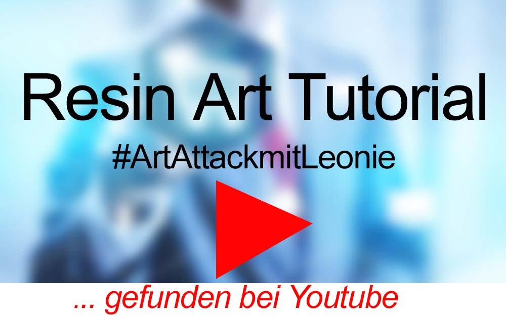 für Sie gegoogelt: Resin Art Tutorial – auf Youtube