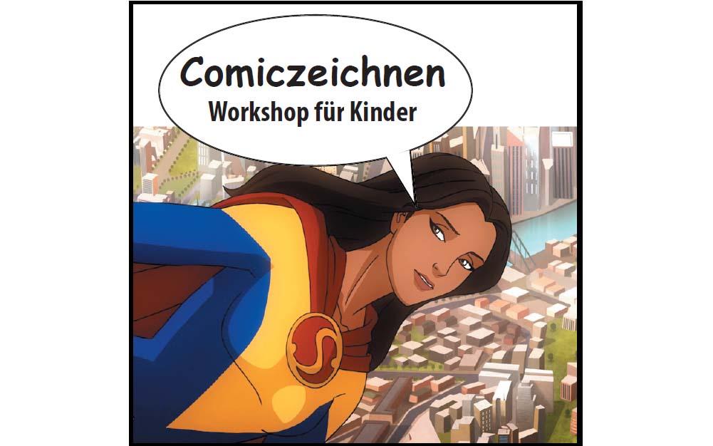 Workshop: Comic zeichnen für Kinder
